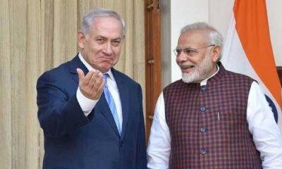 Modi and Netanyahu.